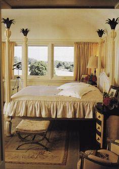 Tuscan design – Mediterranean Home Decor White Bedroom, Master Bedroom, Bedroom Decor, Tuscan Design, Tuscan Style, Hamptons Bedroom, American Interior, Tuscan House, Mediterranean Home Decor