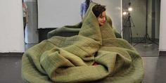 This Blanket/Sofa Hybrid Is Perfect for the Polar Vortex — Design News