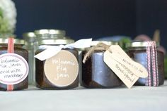 Inspiration for the jars I'll give away as presents. So lovely! #canning #foodie