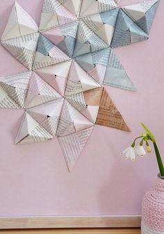 Origamipyramiden selber falten // Basteln mit Papier ☆ Origami // #papier…