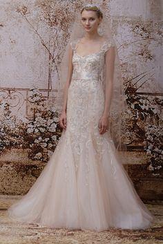 Monique Lhuillier Bridal Fall 2014 [Courtesy Photo]