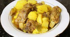 Delicioso guiso de patatas con costillas de cerdo ibérico.