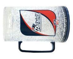 New England Patriots Monster Crystal Freezer Mug