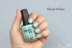 Shady Palms, CND Creative Play Nail Lacquer Sunset Bash collection