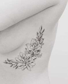 delicate chrysanthemum, rose and olives tattoo, pin: morganxwinter