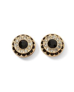 Crystal Pave Earring // White House Black Market