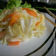 Receita - Salada Oriental de Repolho (3,3/5) Receitas-sem-fronteiras.com