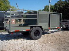 Humvee Generator Trailer