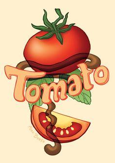 Tomato Basil Sorbet