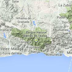 MOTORBIKE EUROPE ROUTE : Granada to Cabo de Gata, Spain