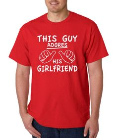 haha spencer would HATE me...Anniversary gift for Boyfriend t shirt tshirt by Designs2Express, $14.99