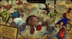 Rebecca Dautremer, Alice in Wonderland