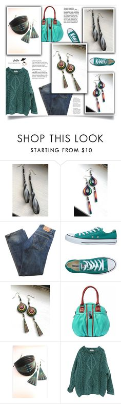 """JetSet shop!"" by samra-bv ❤ liked on Polyvore featuring Levi's, Converse, Essentiel and Carbotti"