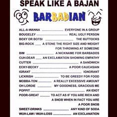 █Ψ█Learn more about Bajan sayings on www.caribbeandreamsmagazine.com