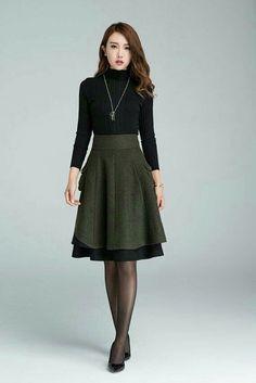 Love the layered skirt