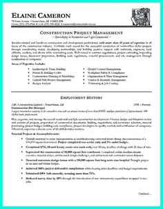 How To Write A Construction Resume Awesome Pin On Resume Sample Template And Format  Pinterest  Construction .