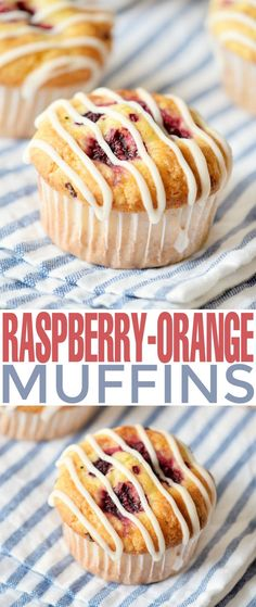 These Raspberry Orange Muffins are a luscious breakfast option with a hint of sweet orange flavour balanced by the tartness of raspberries. It's the perfect way to start your morning!
