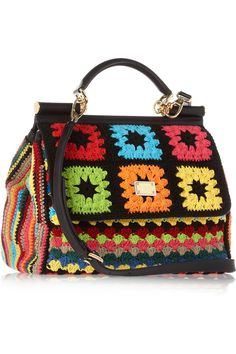 Crochet bag by Dolce Gabbana