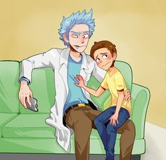 Read FIRST KISS 5 from the story imágenes Rickorty, Rick-Cest , Rick y Morty by jolyxx (jolyxx !) with reads. Autor : the-mr. Rick And Morty Drawing, Ricky Y Morty, Rick And Morty Comic, Manga, Rick And Morty Characters, Wubba Lubba, Slash, My Favorite Image, Fujoshi