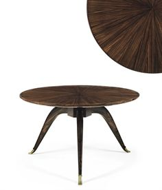 EMILE-JACQUES RUHLMANN (1879-1933) A MACASSAR EBONY TABLE, CIRCA 1928