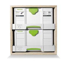 Tiroir Festool pour fabrication de meubles à systainers - HM diffusion