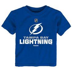 Tampa Bay Lightning Reebok Youth Clean Cut T-Shirt - Blue - $15.99