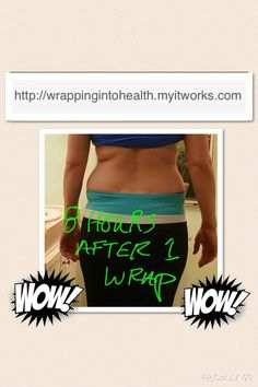 It Works! Ultimate Body Applicator. Have you tried that crazy wrap thing?? You can apply the Ultimate Body Applicator on any trouble area from the chin down. Wrap your stomach, thighs, butt, arms, love handles, back fat, chin/neck - literally anywhere that you want to see the tightening, toning and firming results. Check out these amazing before and after photos to see what this crazy wrap thing can do. karavandersnick@yahoo.com