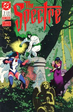 The Spectre #7, October 1987, cover by Mike Mignola