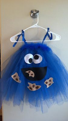 Cookie Monster Dress- The Keeper of the Cheerios