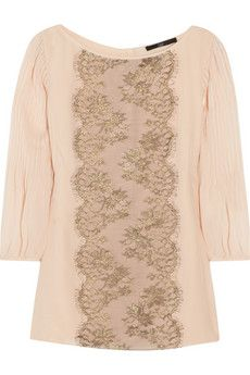 lace runner down just about any garment would add another some pizazz