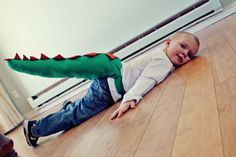 La façon la plus facile de coudre une queue de dinosaure pour vos enfants!