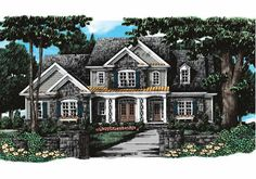 Collins Hill - Home Plans and House Plans by Frank Betz Associates