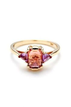 Ring Inspiration | 15 Alternative Wedding-Band Styles to Swoon Over  Repin via Refinery29 #wedding
