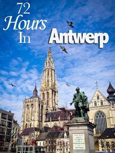7 Reasons You Should Visit Antwerp, Belgium. Article by @ordinarytravelr