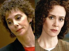 American Crime Story - The 10-part miniseries digs deep into the sexism and razor-sharp media scrutiny that Marcia Clark endured.