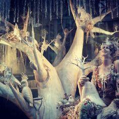 Bergdorf Goodman window holiday 2013 #JDEI