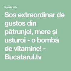 Sos extraordinar de gustos din pătrunjel, mere și usturoi - o bombă de vitamine! - Bucatarul.tv