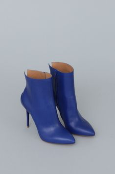 Maison Martin Margiela High Heel Ankle Boot (Blue)