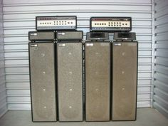 Stage Equipment, All About That Bass, Bass Amps, Audio Sound, Audio Speakers, Blues Rock, Loudspeaker, Guitar Amp, Guitars