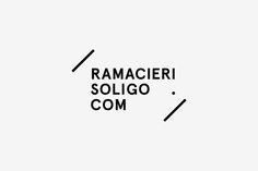 RAMACIERI SOLIGO LOGO by Emanuel Cohen, via Behance
