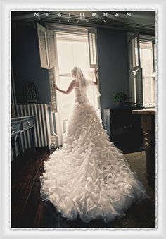 Our Hoboken, NJ Brides beautiful dress! - Buffalo Wedding Photographer & Destination Photography