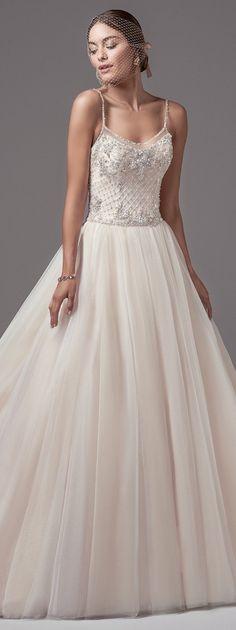 Wedding Dress by Sottero and Midgley | @maggiesottero #sotteroandmidgley #midgleybride