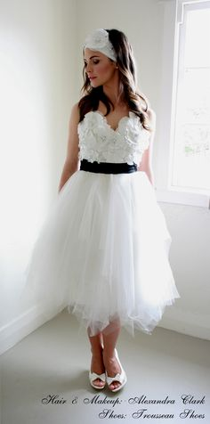Bold lace couture tulle cocktail bridal or VERY special occasion cocktail dress! Very Swan Lake like! LOVE xxx
