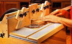 Настольный фрезерный стол сделанный своими руками