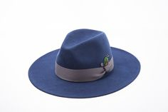 Long brim fedora feather point www.omae.co/shop/brownhat