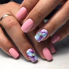 You ready for trending nails? We have 17 Trending Nails for Nail Inspiration! You will find it very easy to get inspired when you look at these 17 trending nails below. All of these nails feature a unique design that is wonderful and often colorful. Fancy Nails, Love Nails, Pretty Nails, My Nails, Nail Art Designs Videos, Nail Polish Designs, Fabulous Nails, Perfect Nails, Spring Nails