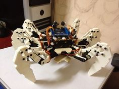 Picture of Hexapod Robot based on FPGA