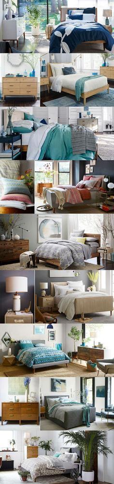 Beautiful bedrooms! Explore new furniture designs and updated styles and colors at west elm.