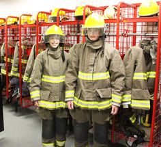 Public Safety Students Geared up!