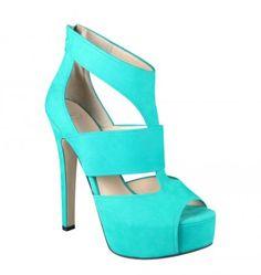aqua green shoes